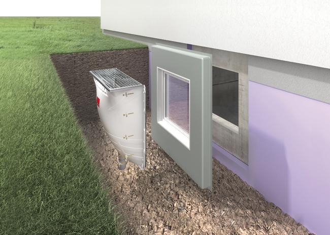 Svetlosno okno: Rešenje za osvetljenje podruma