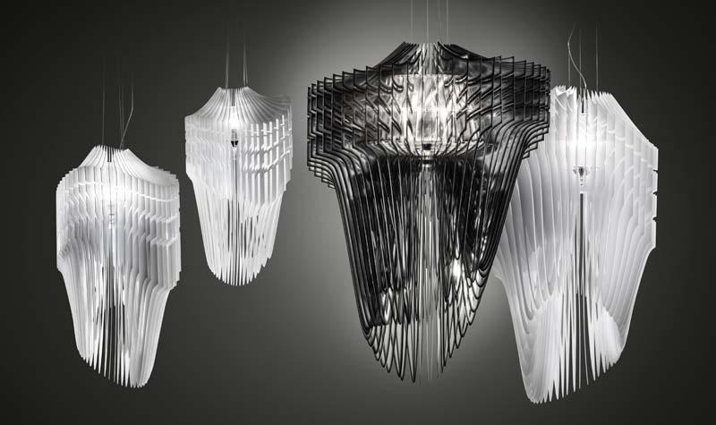 Cosmit 2013: Plastične svetiljke od Slampa