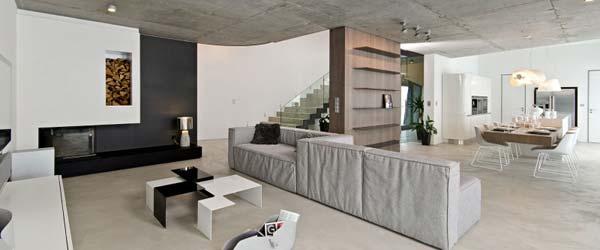 Sofisticirani enterijer u betonu