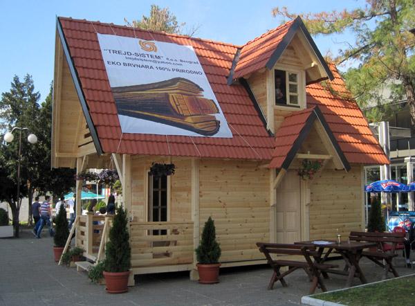 Sajam 2013: Kuća od drveta za 200 evra po metru kvadratnom