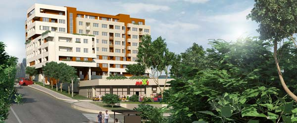 Paunov breg: Novi stambeni blok u Beogradu