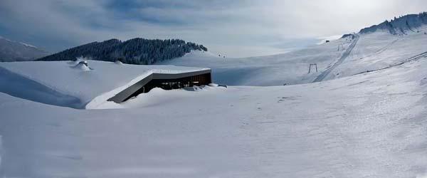 Ski restoran Raduša savršeno uklopljen u pejzaž