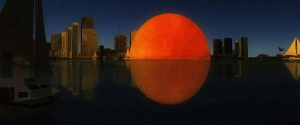 Gradi se veštačko sunce u Majamiju