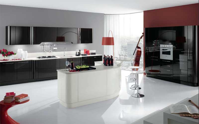 crveno-crna-kuhinja