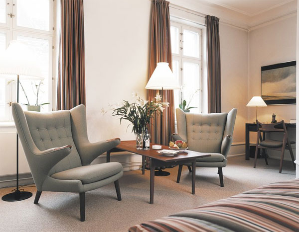 Hotel opremljen nameštajem čuvenih danskih dizajnera