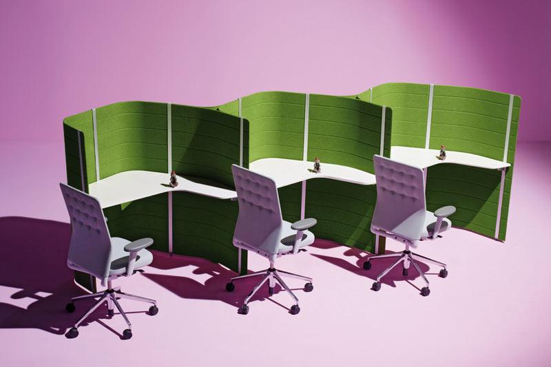 Rad u ostrvima: Organizacija i uređenje velikih kancelarijskih prostora
