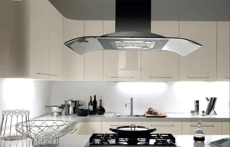 Moderne kuhinje zaobljenih ivica