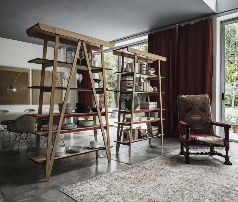 Interesantne police za knjige od Arketipoa
