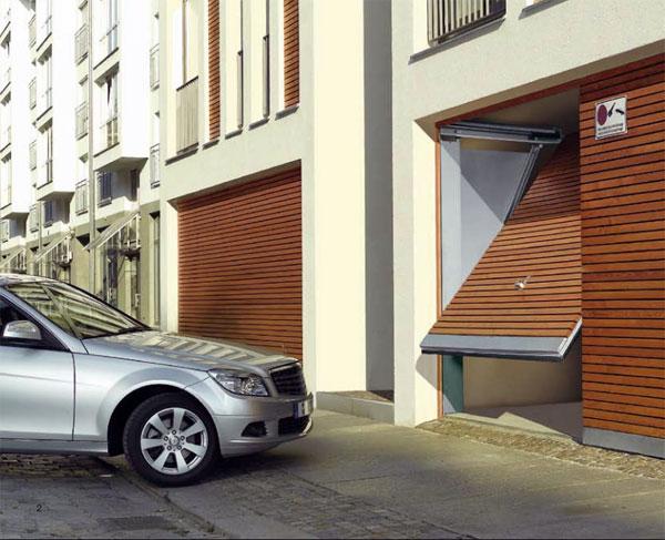 Vrata za zajedničku garažu