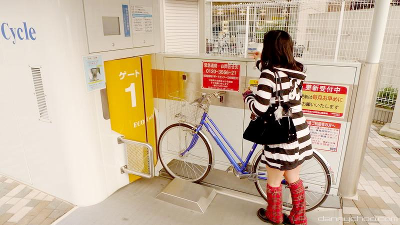 Ekološki parking u Tokiju: Skladištenje bicikala u podzemnom liftu