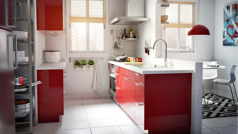 kuhinja-crvene-boje