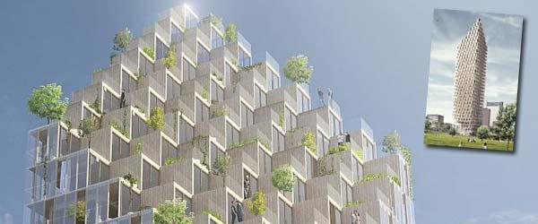 Gradi se kula od drveta na 34 sprata