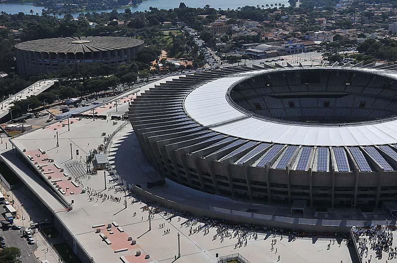 Zeleno Svetsko prvenstvo: Brazil pravi solarne stadione