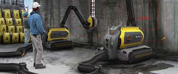 Robot Ero ruši zgrade i reciklira beton