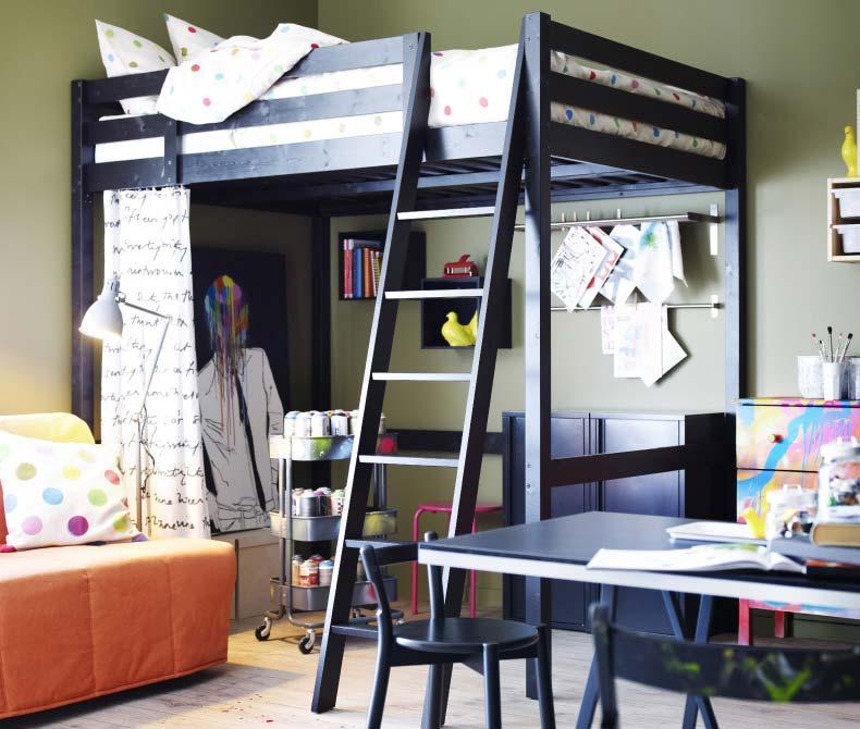 Ikea predla e kako da uredite de iju sobu - Pensili sopra letto ...