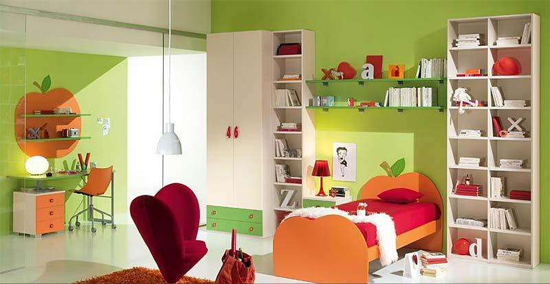decija-soba-zelene-boje