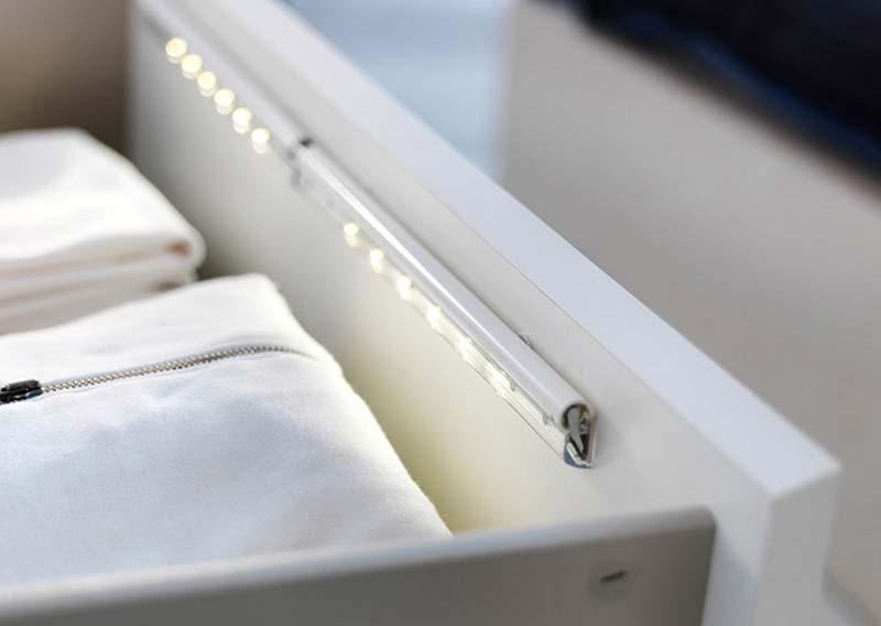 Osvetlite unutrašnjost ormana ili fioke novom LED svetiljkom iz Ikee