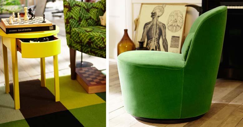 ikea-zelena-fotelja