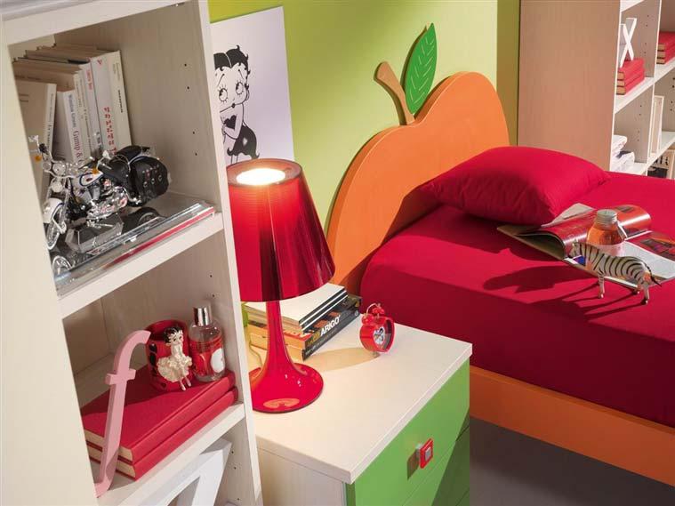 Zelena boja u dečijim sobama