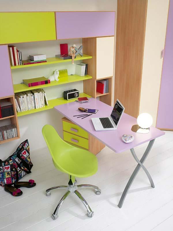 zeleno-lila-sto
