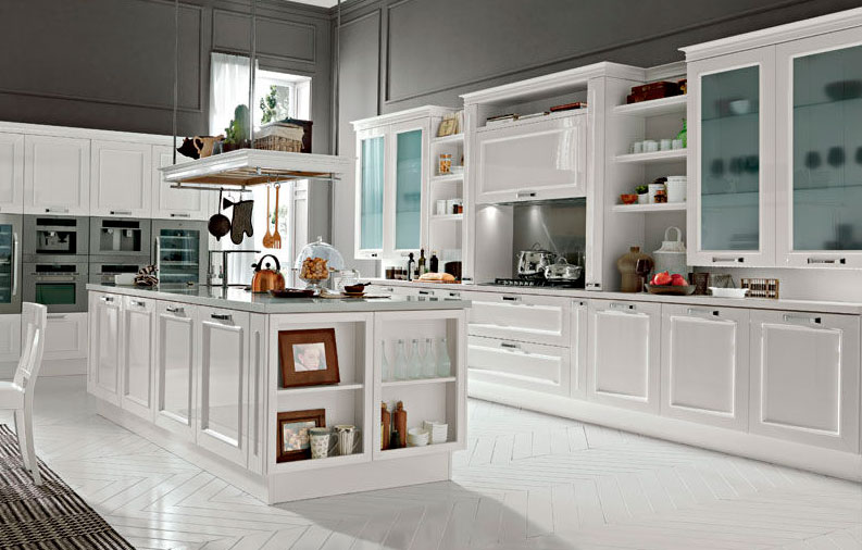 Uvek u trendu: Bele kuhinje