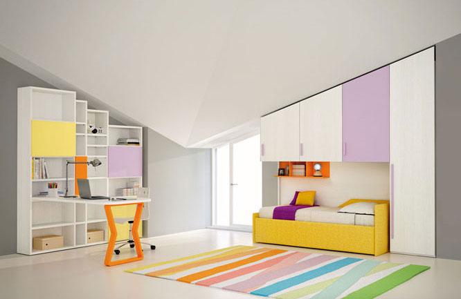 Kako urediti dečiju sobu u potkrovlju