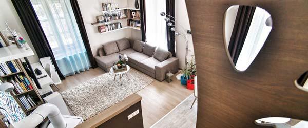 Stolarske majstorije u živopisnom stanu u Budimpešti