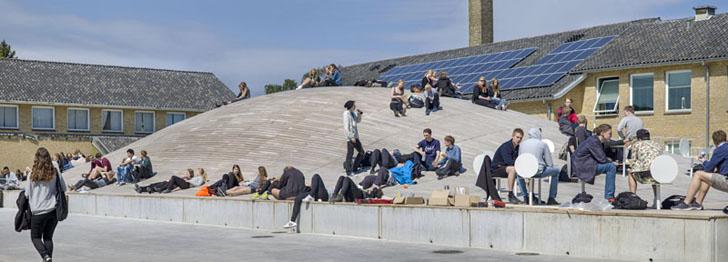 Fiskulturna sala pod zemljom u Danskoj