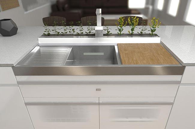 Kuhinja budućnosti: Uzgaja povrće, odlaže otpad, naručuje namirnice