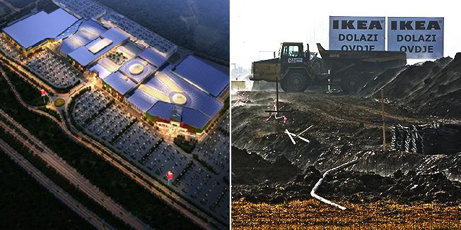 Počela izgradnja robne kuće Ikea u Zagrebu