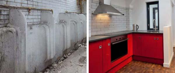 Pre i posle: Od javnog toaleta do modernog stana