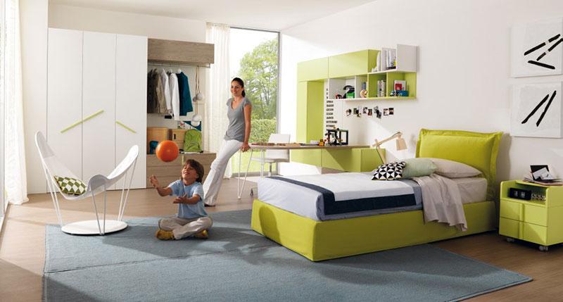 krevet-i-radni-sto-zelene-boje-2