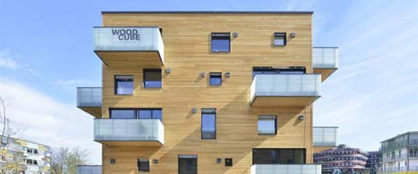Petospratnica od drveta: Zgrada napravljena bez upotrebe hemikalija