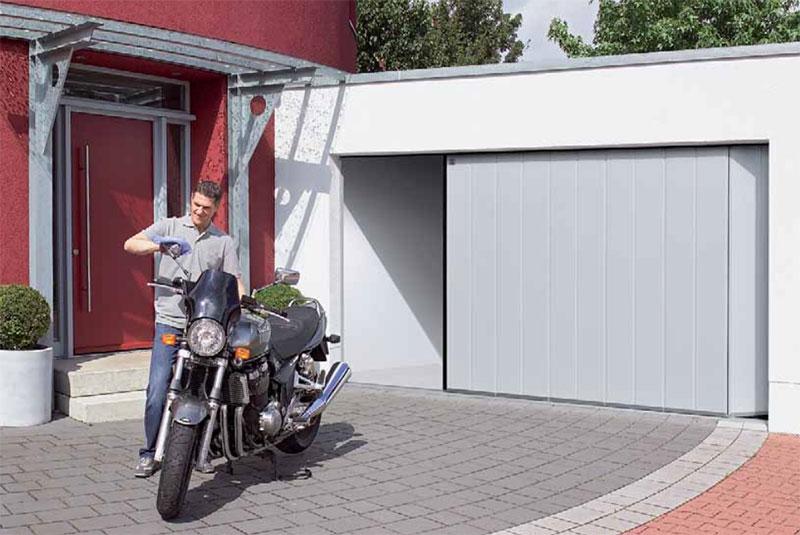 Praktična stvar: Otvaranje garažnih vrata na stranu