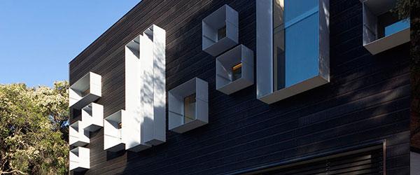 Projekat porodične kuće: Drvo na fasadi i enterijeru
