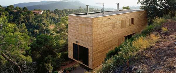 Montažno-demontažna kuća u Španiji