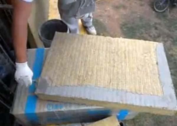 Kako se pravilno nanosi lepak na ploču kamene mineralne vune
