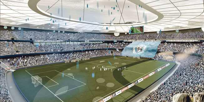 Plavi vulkan: Zagreb gradi novi stadion za evropsko prvenstvo 2020.