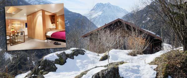 Karaula na Alpima pretvorena u kolibu