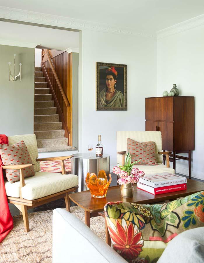 retro stil dnevna soba