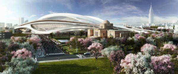 Zaha Hadid predstavila projekat Olimpijskog stadiona u Tokiju