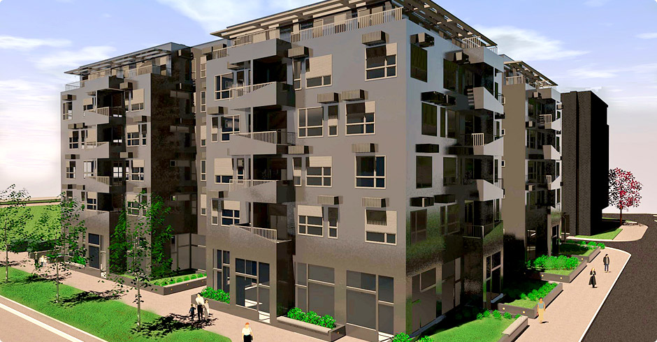 Atrijum 63: Novi stambeno-poslovni blok na Novom Beogradu