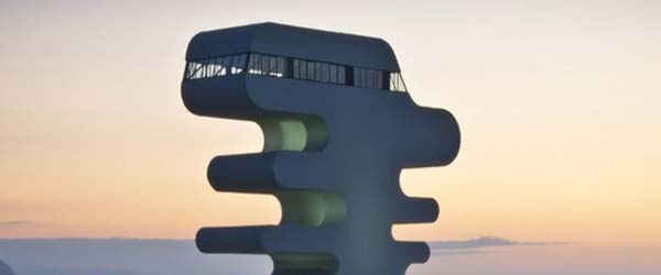 Krivuljasti toranj na obalama Crnog Mora