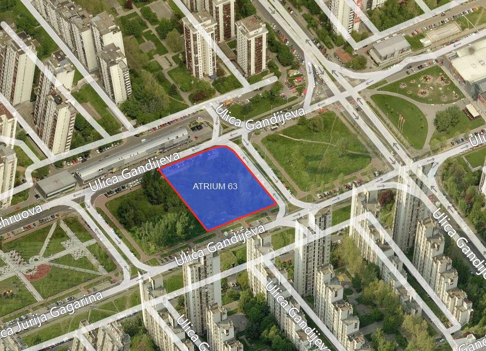 Atrijum 63 Novi Stambeno Poslovni Blok Na Novom Beogradu