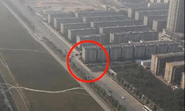 Kinezi greškom sazidali zgradu na sred puta
