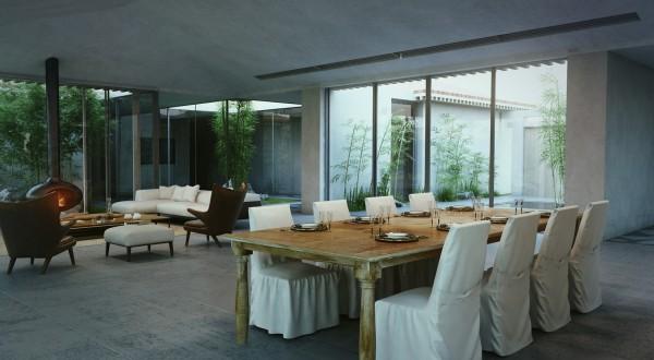 modern-cottage-living-dining-room