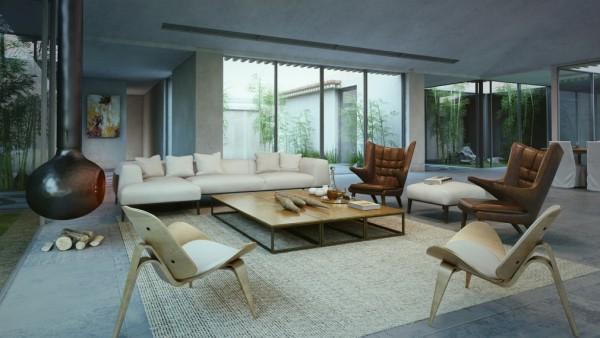 modern-cottage-living-room