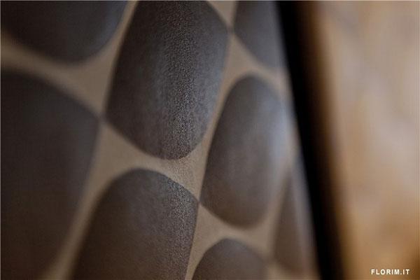 Trodimenzionalne pločice: Reljef na zidovima