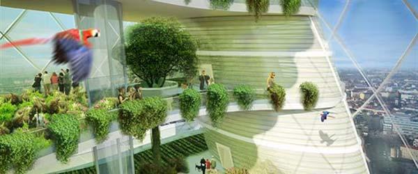 Zelena oaza: Spiralni toranj u Berlinu