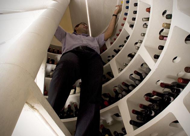 Spiralni vinski podrum koji ostavlja bez daha